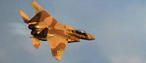 Un avion de chasse F-15 Eagle de l'armée de l'air israélienne. © IDF/Chameleons Eye / Sipa
