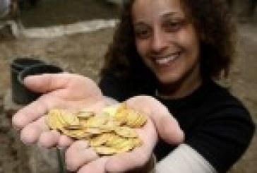 Des pièces d'or et des bijoux de l'époque byzantine découverts à Jérusalem