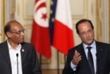 Israël/Gaza: Hollande s'entretient avec le président tunisien