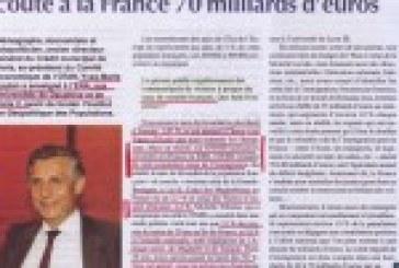 L'immigration coûte 70 milliards d'euros à la France