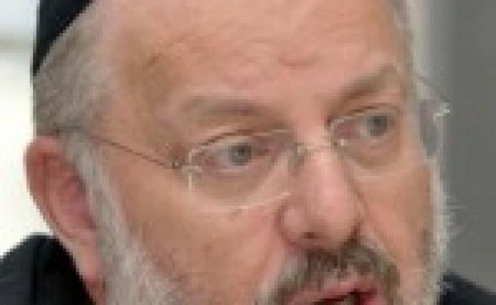 CORRIGÉ:  Le grand rabbin de Strasbourg dénonce la «systématisation» de la profanation du cimetière juif de Sarre-Union