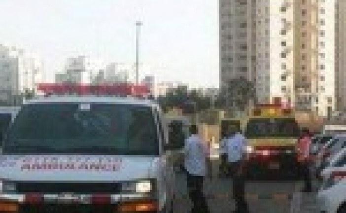 Ménage de Pessah: En nettoyant les fenêtres, une femme a fait une chute de 14 étages à Netanya