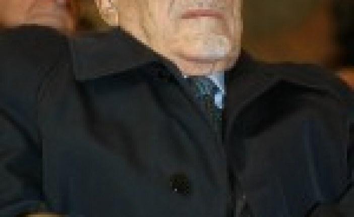Décès de l'ancien GR d'Italie, Elio Toaff, à quelques jours de son centième anniversaire !