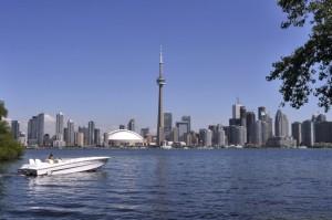 Le drapeau d'Israël flotte à Toronto