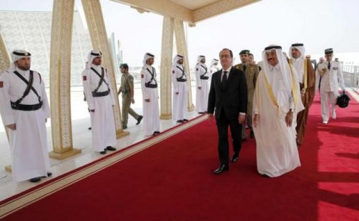Rafale : Hollande est arrivé au Qatar pour la signature officielle du contrat