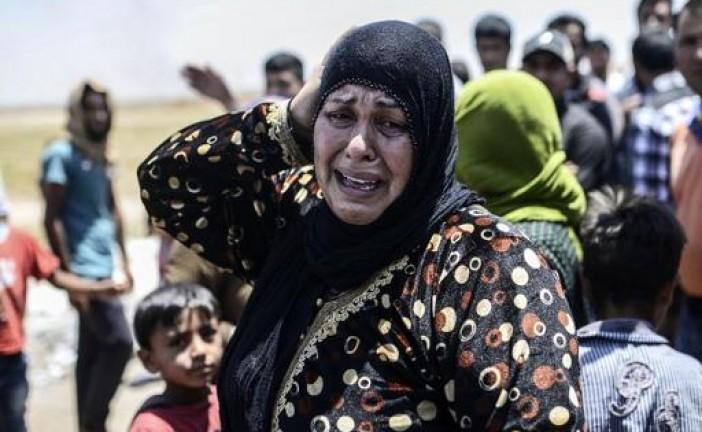 Les Kurdes syriens aux portes d'un fief jihadiste à la frontière turque