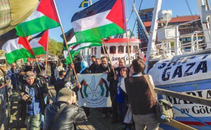 Flotille pour Gaza: Israël intercepte le navire suédois «Marianne»