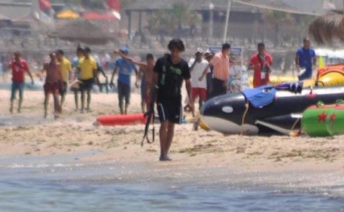 Tunisie : l'attaque terroriste de Sousse filmée par un amateur depuis un balcon