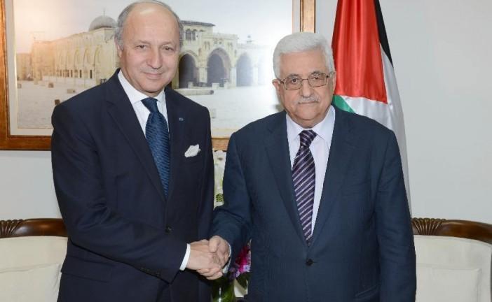 Abbas ne veut pas associer le Hamas à un nouveau gouvernement, dit Fabius