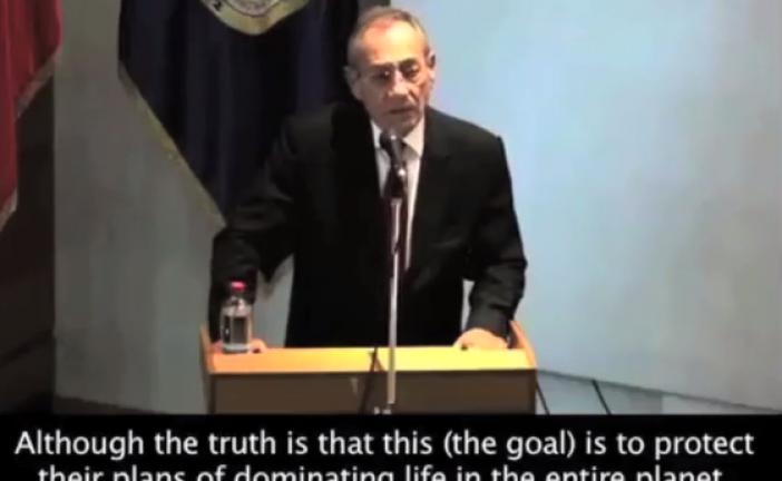 «Les Juifs n'existent pas ! » Discours d'un représentant de l'OLP en vidéo.