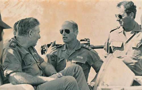 L'ancien Général Ami Ayalon au centre