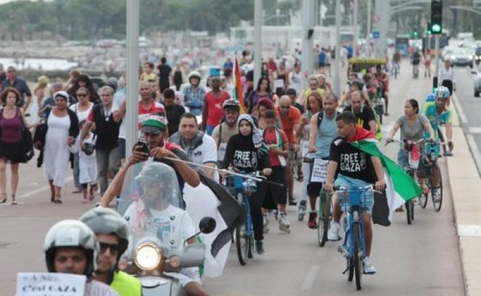 Manifestation pro-Hamas à Nice