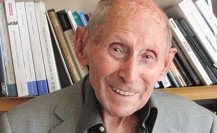 Notre ami Georges Loinger, a 105 ans aujourd'hui