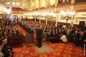 Cérémonie du 9 septembre 2015 à la Synagogue de Nazareth par ALAIN AZRIA pour Israël Actualités.