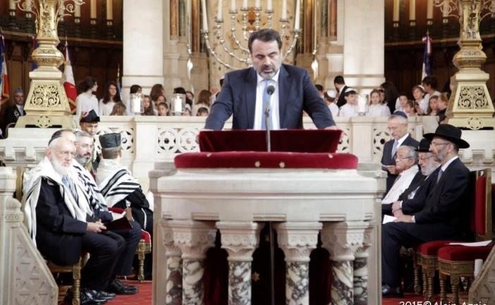Cerémonie du 6 Septembre 2015 à la Victoire  par Alain AZRIA  pour Israel Actualités