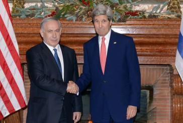 Netanyahou et Kerry discutent de l'accord sur le nucléaire iranien.