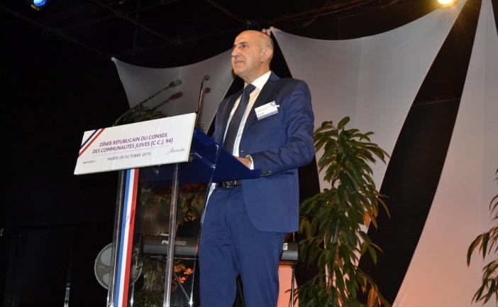 Dîner  républicain du Conseil des communautés  Juives du 94 ( C.C.J 94) par notre reporter: Haïm James HADDAD