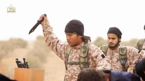 Isis avec couteau