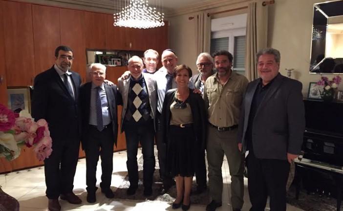 Depuis une année  l'Union  Communautaire des  Associations  Juives de   Fontenay   « U. C. A. J. F»,  emmenée par son  Président Franck SERFATI,   va à   la rencontre des Elus et Représentants de l'Etat.