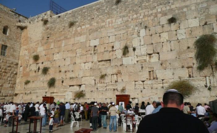 Completement débile : Les arabes palestiniens demandent un vote de l'UNESCO pour annexer le mur occidental de Jérusalem