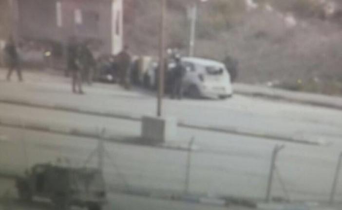 Samarie , Réctification,  4 jeunes israeliens blessés dont 2 séverements ,  lors de l'attentat de ce matin
