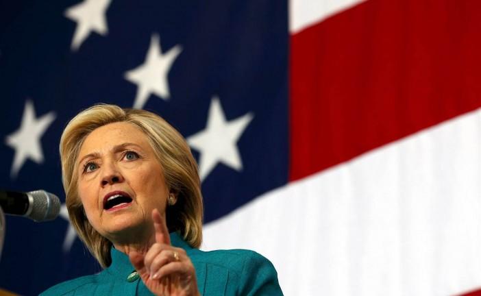 Hillary Clinton affirme son soutien à Israël.