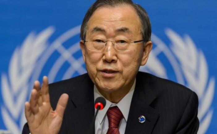 Ban Ki-moon trouve des excuses au terrorisme palestinien.