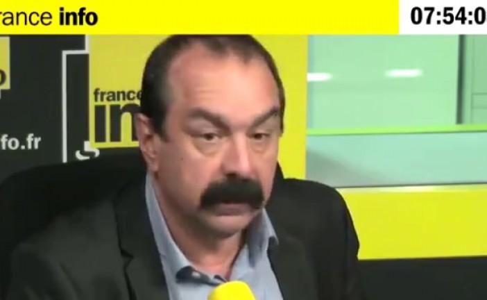 Video Il  y a un mois un interview est passé inaperçu, sur la radicalisation de la CGT par des integristes islamistes radicaux