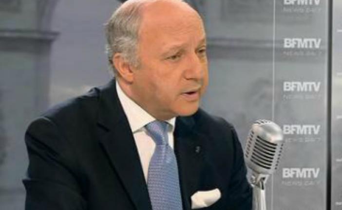 Laurent Fabius quitte le gouvernement.