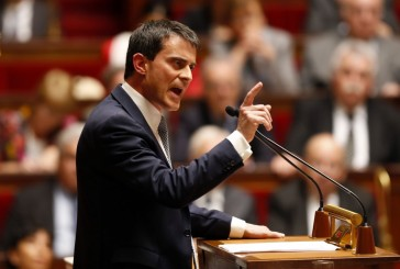 Valls à l'assemblée nationale: «l'état d'urgence a permis de déjouer un attentat».