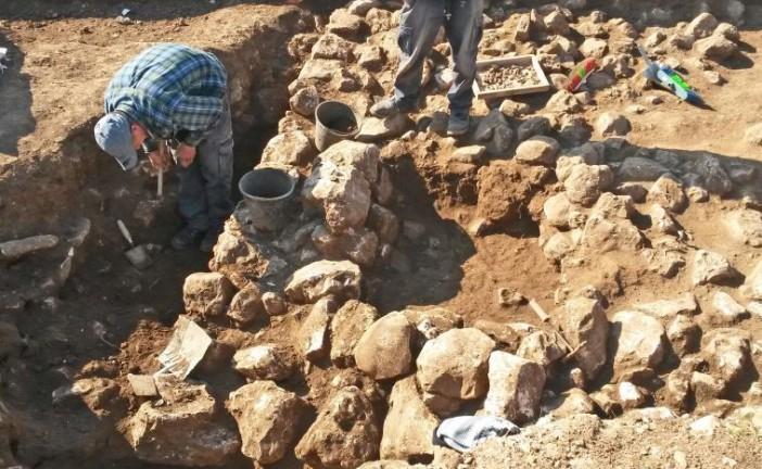 Des vestiges vieux de 7000 ans découverts à Jérusalem.
