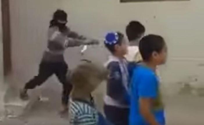 Vidéo: «Plante le juif», le nouveau jeu à la mode des enfants arabes palestiniens