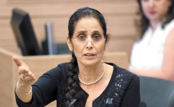 Une député israélienne lance un argument béton et pour le moins étonnant lors d'un débat sur la solution à deux états.