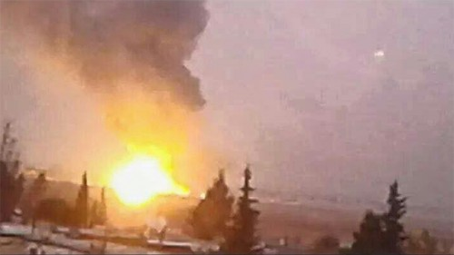 Air strike in Damascus (Photo: Archive)