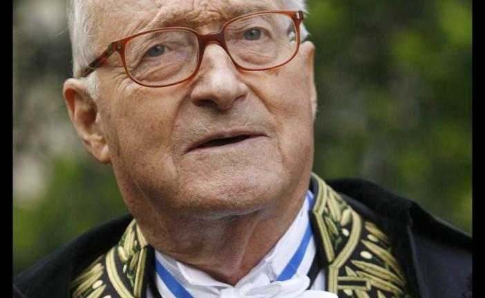 Derniere Minute : Décès de l'écrivain et académicien Alain Decaux à 90 ans