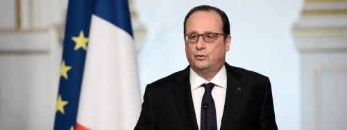 François Hollande lors d'une prise de parole à l'Elysée, à Paris, le 30 mars 2016. (AFP)