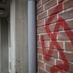 Deux croix gammées et des messages antisémites ont été découvert à l'entrée de la synagogue de Verdun