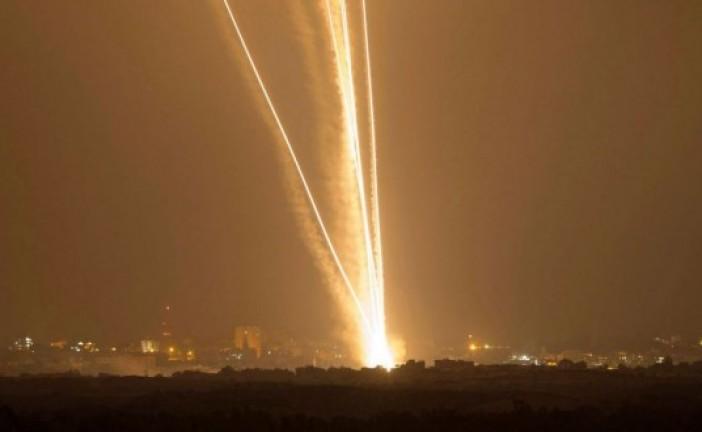 Roquettes sur le sud d'Israël le soir du shabbat