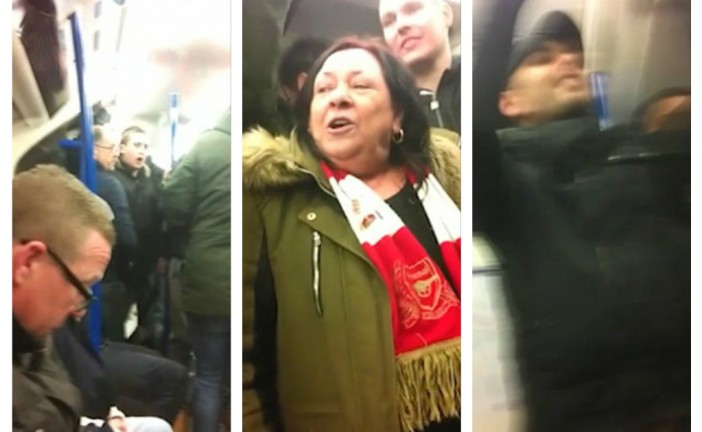Vidéo: Des supporteurs d'Arsenal chantent des slogans antisémites avant le match contre Tottenham.
