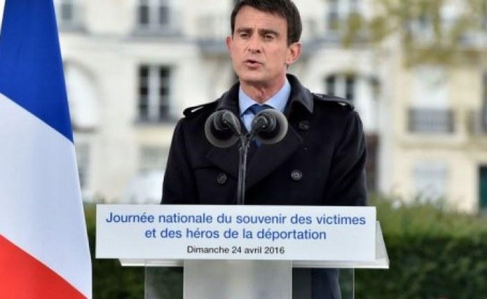 Valls compare la lutte contre le terrorisme à la guerre contre le nazisme