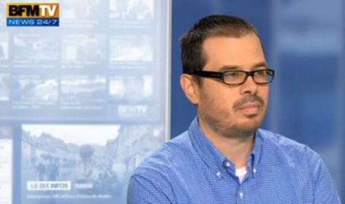BFMTV dit «regretter » que Romain Caillet ne lui ait pas «préciser un certain nombre d'éléments importants de son passé».