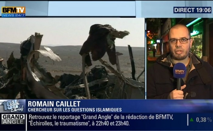L'expert djihad de BFMTV ,  Romain Caillet serait « fiché S »