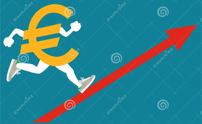 Nouvelle hausse de l'€uro face au Shekel       – 1 EUR =4,24582ILS