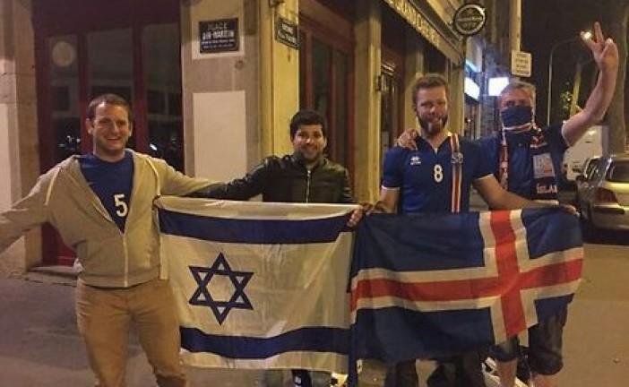 Euro 2016: les drapeaux israéliens confisqués dans les stades! Pourquoi ???