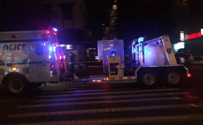 """Une explosion fait 29 blessés à New York, le maire évoque un """"acte intentionnel"""""""