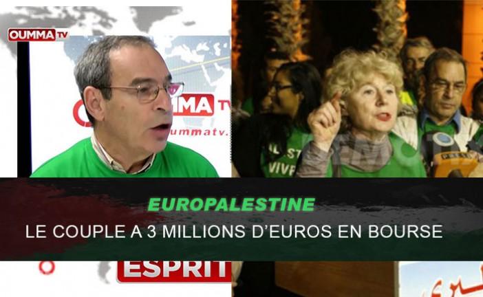 Etre pro-palestinien rapporte: plusieurs millions d'euros appartenant au fondateur de l'organisation EuroPalestine sont découverts sur plusieurs placements boursiers «Les comptes Shahshahani chez Rothschild»