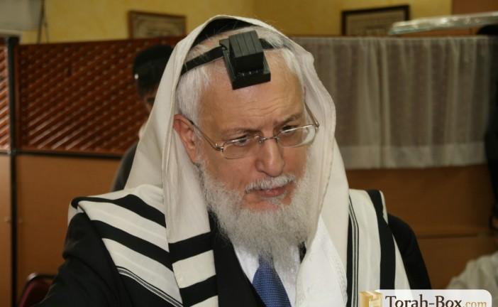Vidéo: « l'un des derniers messages enregistré par le Rav Sitruk appelant clairement les Juifs de France à monter en Israël »