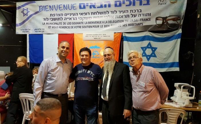 L' ASI en Action en Israel avec son président  Gil Taieb et ses bénévoles