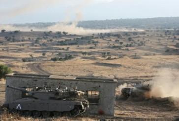 Golan: 4 terroristes de l'Organisation Etat islamique tués par une riposte de l'armée israélienne