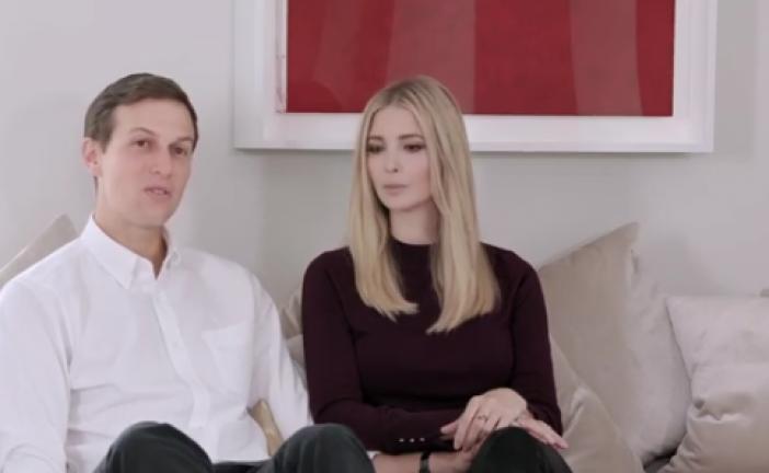 Video : Ivanka Trump, a prié sur la tombe du Rabbi pour le succès de son père